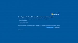 Support Ende von Windows 7